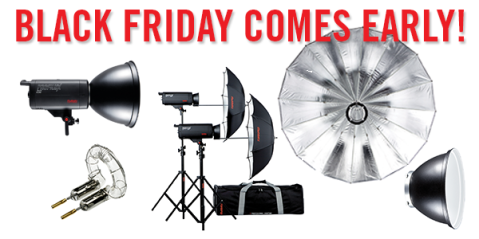 Black Friday Studio Lighting Sale